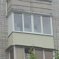 """Балкон в """"хрущевке"""""""