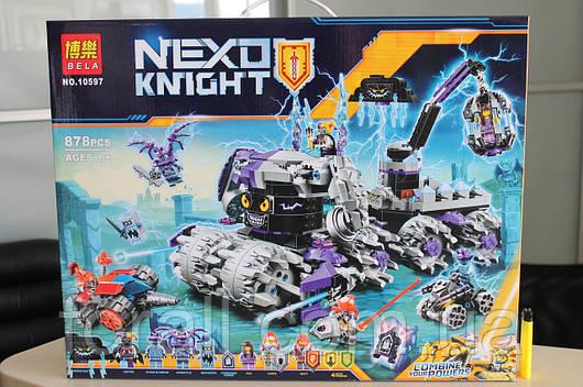 "Конструктор аналог Lego Нексо найтс ""NEXO KNIGHTS"" №10597 ""Штаб Джестро"""
