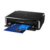 Принтер струйный цветной A4 Canon iP7240 (6219B007), Black, Wi-Fi, 2400x9600 dpi, до 15 стр./мин., дуплекс, USB, печать на CD/DVD (картриджи PGI-450PG