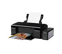Принтер струйный цветной A4 Epson L805 (C11CE86403), Black, WiFi, 6-цветный, 5760x1440 dpi, до 38/37 стр/мин, печать на CD/DVD, USB, встроенное СНПЧ