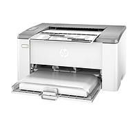 Принтер лазерный ч/б A4 HP LaserJet Ultra M106w (G3Q39A), White, 600x600 dpi, до 22 стр/мин, Lan / USB (картридж CF233A / CF234A)
