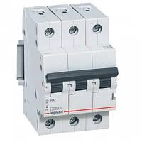 Автоматический выключатель LEGRAND RX3 4,5кА 10А 3п C, 419706