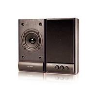 #127221 - Колонки 2.0 F D R215 Black, сателлиты 2 x 3 Вт, МДФ, питание от сети 220V, управление спереди