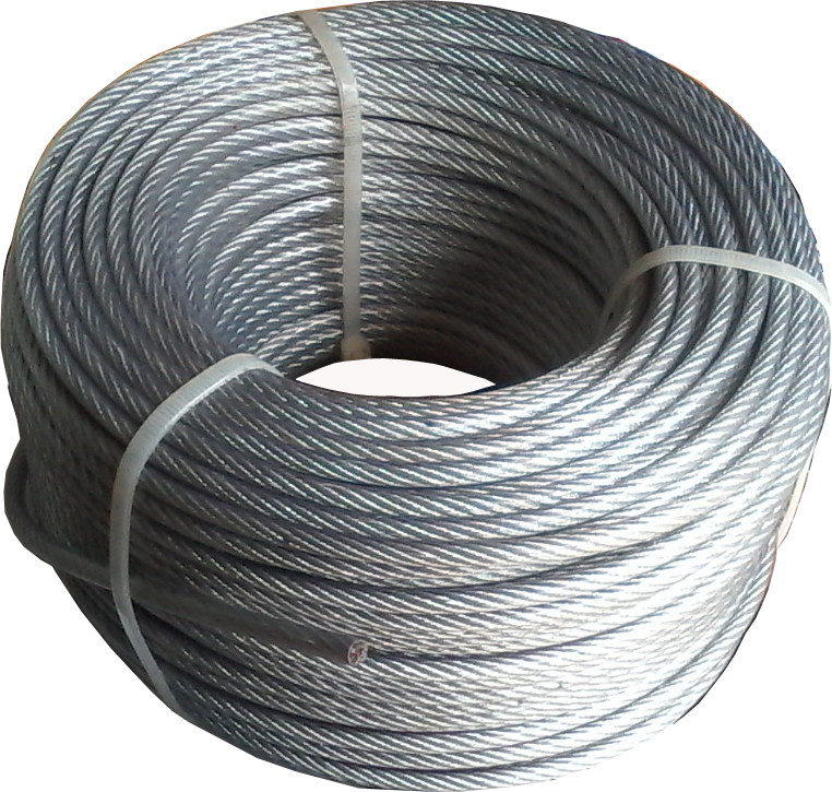 Трос стальной 5 мм в оболочке ПВХ