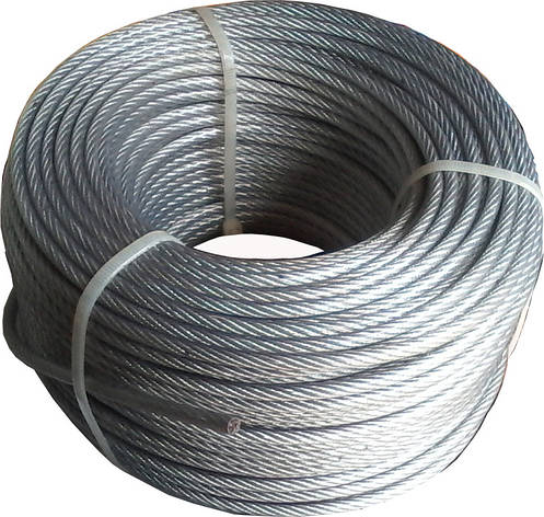Трос стальной 5 мм в оболочке ПВХ, фото 2