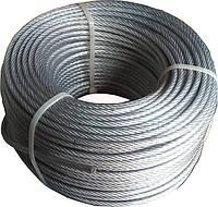 Трос стальной 4 мм в оболочке ПВХ