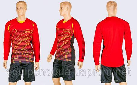 Форма вратарская с шортами Tempo CO-024 Красная, фото 2