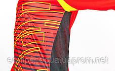 Форма вратарская с шортами Tempo CO-024 Красная, фото 3