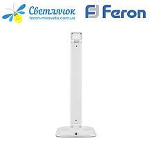Настольная светодиодная лампа Feron DE1725 9W белая 4000К (для учебы, работы, для шитья) 3 уровня яркости, фото 3