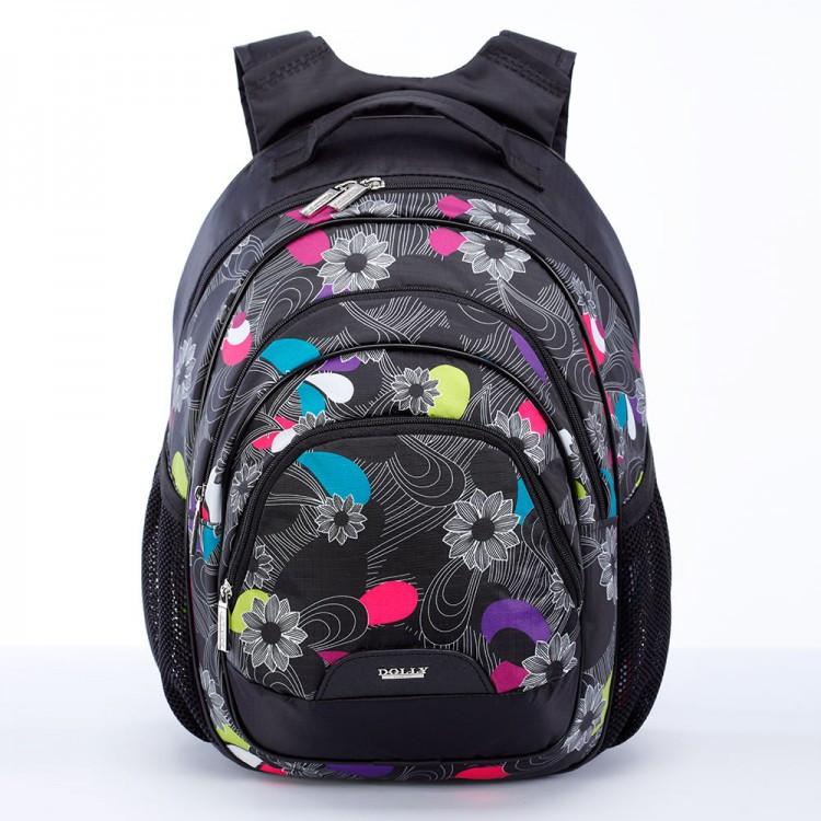 Рюкзак школьный Dolly 2017 размер 40х30х20