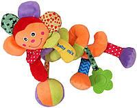 Игрушка на коляску спираль Цветок Baby mix