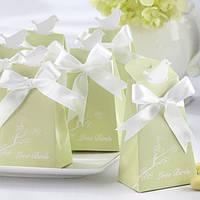 Бонбоньерки для гостей на свадьбе цвета айвори
