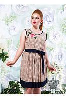 Стильное летнее  платье  (48-54), доставка по Украине