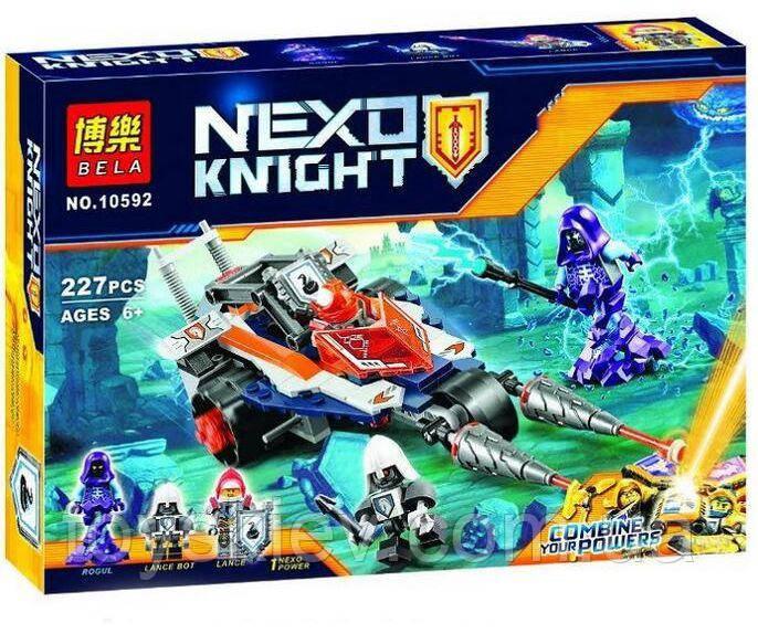 "Конструктор аналог Lego Нексо найтс ""NEXO KNIGHTS"" 10592 Турнирная машина Ланса"