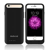 Аккумулятор чехол-накладка Power Bank Dodocool DP06B для Apple iPhone 6 на 3100мач черный