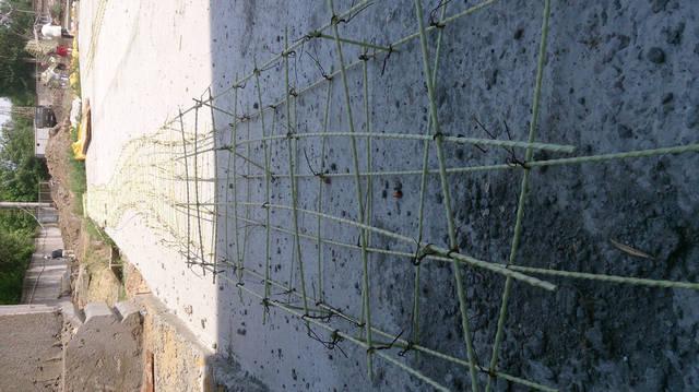 Применение композитной стеклопластиковой арматуры на объекте промышленного назначения. 4