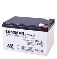 Аккумулятор Bossman 12V 12Ah H, по технологии AGM. Аккумулятор общего назначения.