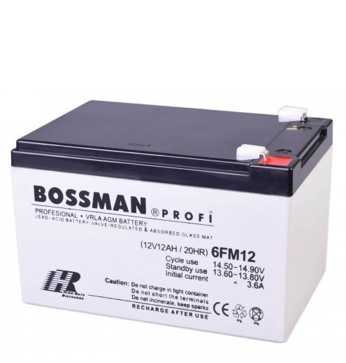 Аккумулятор Bossman 12V 12Ah H, по технологии AGM. Аккумулятор общего назначения.  - Интернет магазин подарков и товаров для дома «Жораппа в Киеве