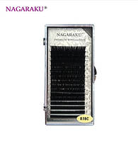 Nagaraku Mix Ресницы на ленте, 16 линий