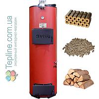Твердотопливный котел длительного горения «Swag» 20 D (дровяной на 20 кВт)