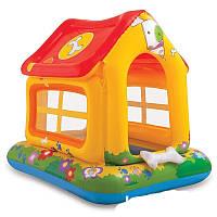 Детский надувной домик Intex 57429 Любимый щенок 142 х 117 х 122 см