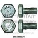 Болт с шестигранной головкой нержавеющий от М3 до М64, ГОСТ 7805-70, 7798, DIN 558, DIN 601, DIN 931, DIN 933, фото 2