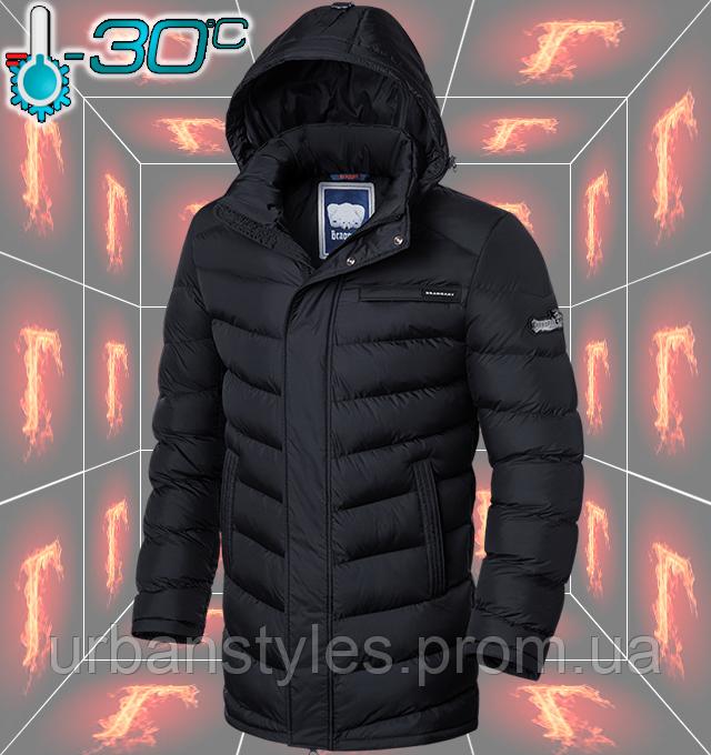 Длинная зимняя куртка мужская