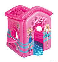 Детский надувной домик Bestway 93208 Барби 150 х 135 х 142 см, фото 1