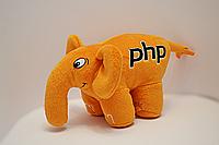 PHP слон (оранжевый)