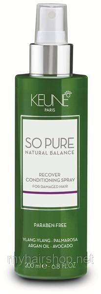 Кондиционер - спрей восстанавливающий Keune So pure Recover CONDITIONING SPRAY 200 мл
