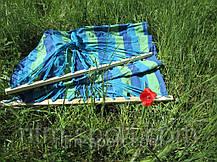 Гамак-Ткань с деревянными перекладинами ТО-615, фото 2