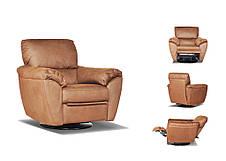 """Оригінальне шкіряне крісло """"Kelly"""" (Келлі) (102 см), фото 3"""