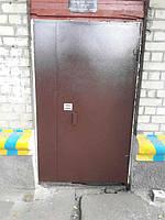 Входные подъездные двери Балкар-Днепр с кодовым замком и порошковой покраской.