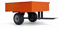 """Прицеп Husqvarna """"профи"""" для всех тракторов и райдеров 225 кг"""
