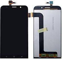 Дисплей (экран) для телефона Asus ZenFone Max ZC550KL + Touchscreen Black