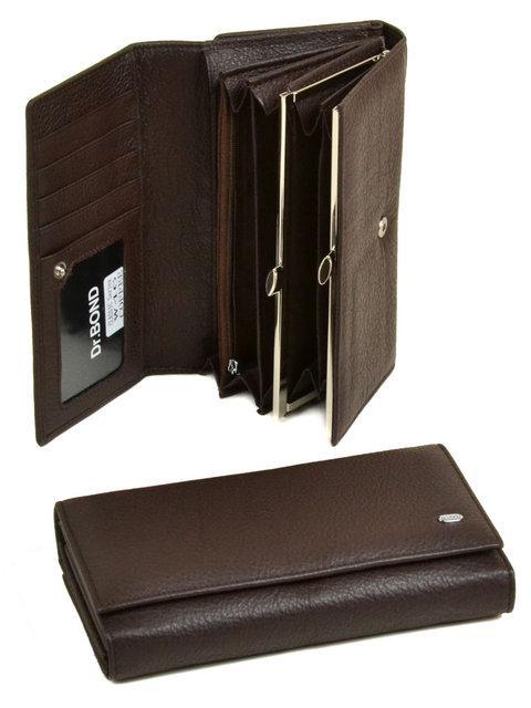 Женский кожаный кошелек Classik от dr.Bond W46
