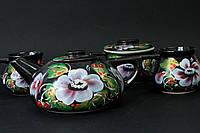 Чайный набор с цветком