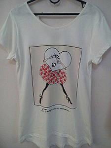 Женская футболка Микс