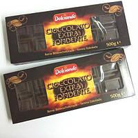 Черный шоколад Dolciando Cioccolato Extra Fondente , 500 гр