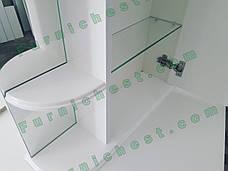 Зеркальный шкаф для ванной комнаты Базис 50-01  правый ПИК, фото 2