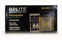 Аккумулятор GD 8032 солнечная панель, портативный аккумулятор!Опт