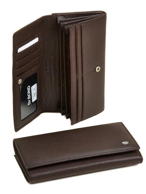 Женский кожаный кошелек Classik от dr.Bond W1