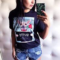 """Женская классная  футболка """"GUILT"""""""
