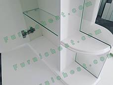 Зеркальный шкаф для ванной комнаты Базис 50-01 левый ПИК, фото 2