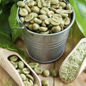 Зеленый натуральный кофе