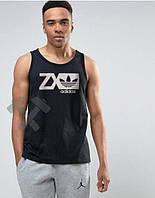 Мужская майка Adidas Originals ZX черного цвета, фото 1