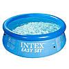 Надувной бассейн Intex 28110  Семейный Easy Set 244 х 76 см