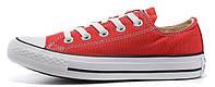 Мужские кеды Converse Chuck Taylor All Star (конверсы) красные