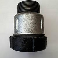 Врізка на трубу 1/2 гебо з зовнішньою різьбою, фото 1