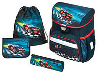 Школьный ранец Herlitz Loop Super Raser с наполнением 50008025